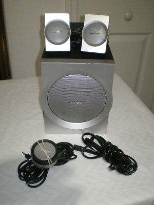 Bose Companion 3 Multimedia Series I Computer Speakers System Set Sub *NICE*