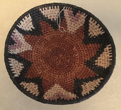 HANDWOVEN AFRICAN BASKET ( 9 INCHES)  from SOUTH AFRICA   NEW