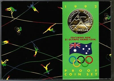 1992 Australia Proof Coin Set
