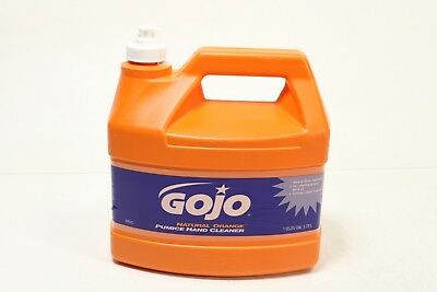 Gojo 0955 Natural Orange Pumice Hand Cleaner - 1 Gallon - Preowned