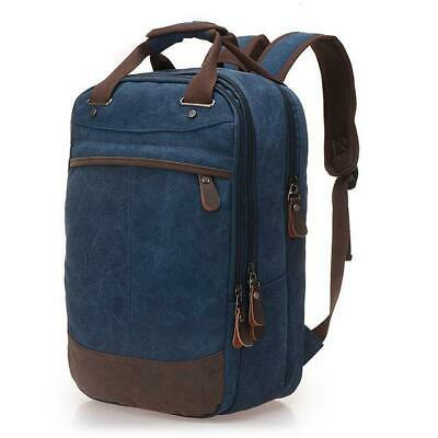 Vintage Multi-function Canvas Travel Backpack