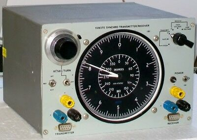 SMITHS 1328/3TE SYNCHRO TRANSMITTER RECEIVER avionic test set