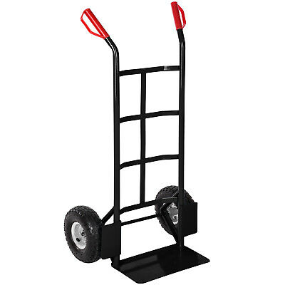 High Quality Heavy Duty Hand Sack Truck Barrow Dolly 200kg black