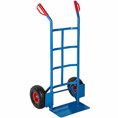 High Quality Heavy Duty Hand Sack Truck Barrow Dolly Handcart 200kg blue
