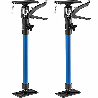 2x Door frame strut telescoping prop door frame clamp frame setting tool blue