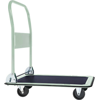 Folding Platform Truck Warehouse Cart Picking Sack Trolley Transport Cart 150Kg