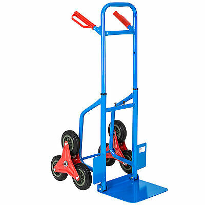Heavy duty stairway hand truck climber step cart sack barrow transport dolly