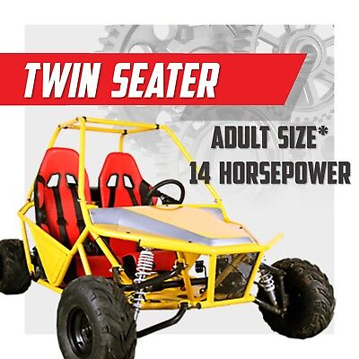 XL DOUBLE 200cc ✸ LIMITED ✸ Off road dune buggy  ✸ 200GKM-2 ✸ FULL SIZED Go kart