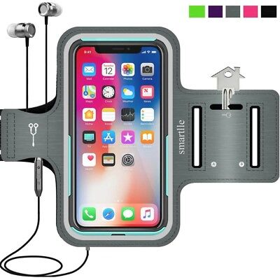 iPhone X 8 7 6s 6 Armband, smartlle Sweatproof High-Quality Adjustable Running A