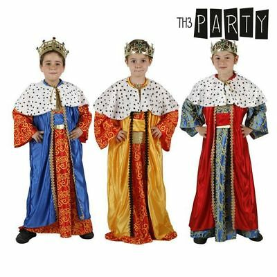 Costume per Bambini Th3 Party Re magio 7-9 Anni