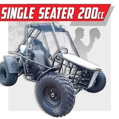 NEW RELEASE ✸ FULL CAGED ✸ Off road dune buggy  ✸  Automatic 200cc Go kart