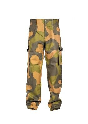 Norwegian Army M98 Ripstop Woodland Combat Trousers - NEW