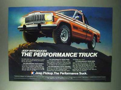1980 Jeep Pickup - The Performance Truck