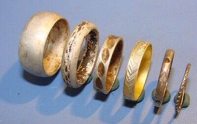 Ancient Wedding Rings. Aluminum. Original.