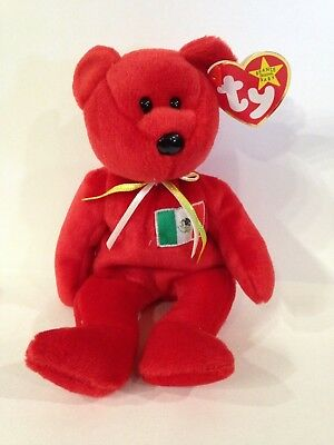 TY Beanie Baby OSITO bear w/ TAG in great condition 1999 collectible