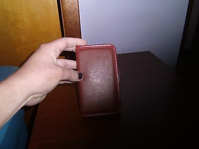 Pocket Address Book with Red Cover