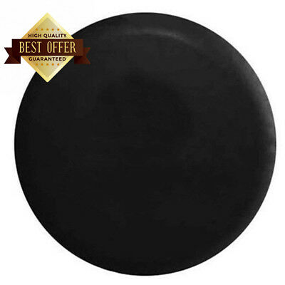 Lenhart Black wheel cover rear spare tyre wheelcover (Fit 23-27 inches)