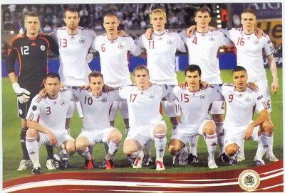 Latvia Football Team 2011