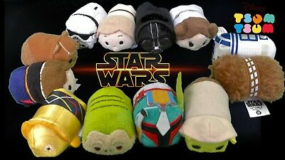 Disney Tsum Tsum Star Wars ( Assorted ) Small Plush Collectable New Hope - BNWT
