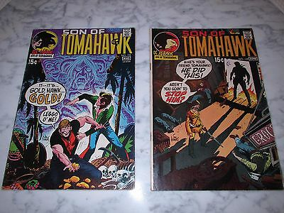*son Of Tomahawk# 134 & 135 Dc/national Comics (1971) Vf- 7.5 Copies One Owner*