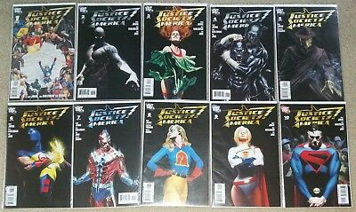 DC Justice Society of America #1-16 including Annual #1 (DC comics 2007)