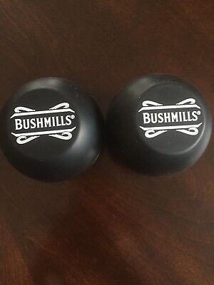 2 Bushmill's Irish Whiskey Ice Ball Molds Makes Round Ice Cube Rubber Brand NEW
