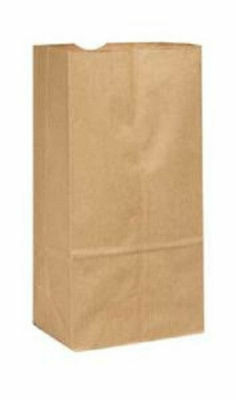 "2lb Brown Paper Grocery Bags 4 5/16""x 2 7/16 X 7 7/8"" ( 50 - 1000ct )"