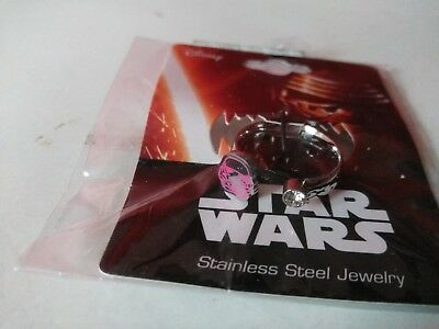Star Wars Storm Trooper Licensed Ring Stainless Steel Jewelry Brand NEW!