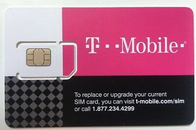 T-Mobile Starter Kit 3 in 1 SIM Card