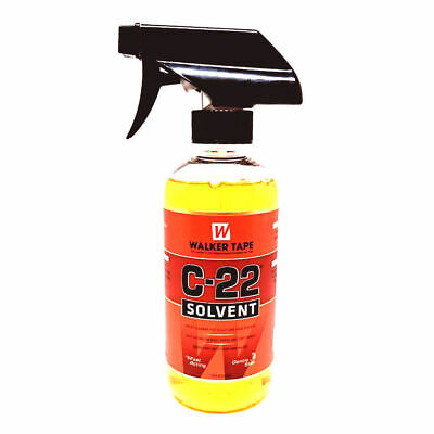 C22 Citrus Solvent Adhesive Tape Glue Remover Hair Extension Lace Wig Toupe 12oz