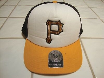 4988e24e622f5e Pittsburgh Pirates 47 Brand Sequence Sparkle MLB Baseball Cap Hat Women's  NEW