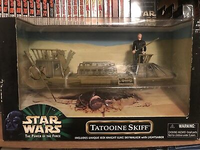 Star Wars The Power Of The Force Tatooine Skiff