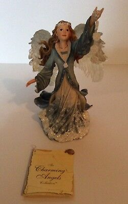 """Boyd Collection Charming Angel """"Crystalina - Guardian of Grace"""" Figure"""