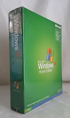 Microsoft Windows XP Home Edition Spanish Full Version Brand new & sealed !!!