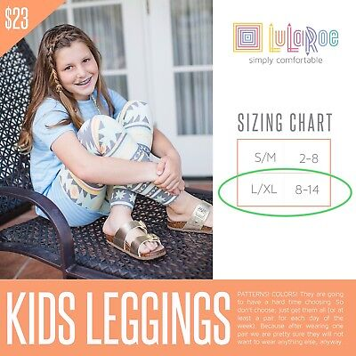 LuLaRoe Kids L/XL Leggings (See All Pictures)
