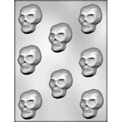 Skulls Chocolate Mould or Soap Mould