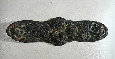 Vintage Antique Magnificent Bronze Application Byzantine or post medieval /983