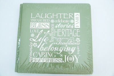 Creative Memories True 12x12 Green Laughter Heritage Family Album BNIP