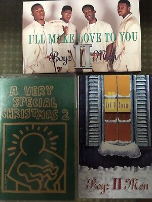 Boyz II Men I'll Make Love To You Let It Snow Very Special Christmas 2 cassettes