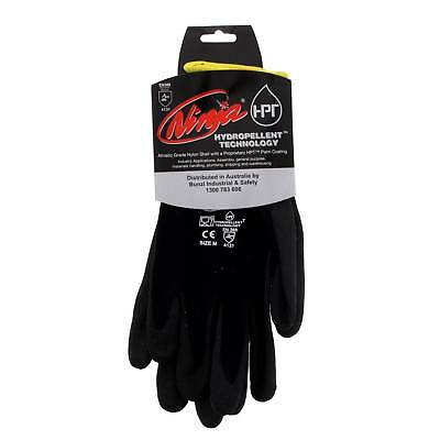 Ninja Glove P4001 Medium Seamless 15 Gauge Nylon Shell Feather Light Safety