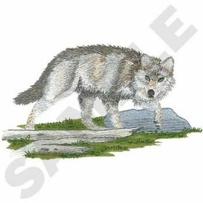 """Wolf, Wolves, Embroidered Patch 7""""x 4"""""""