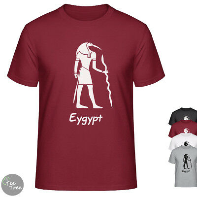 Ancient Egypt Egyptian Hieroglyphs in Pyramid image UNISEX  T-Shirt