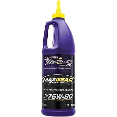 Royal Purple ROY01300 Max GEar 75W90 Synthetic Lube 1 Quart FAST SHIP