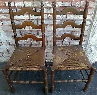 Unknown Chairs Furniture Antiques Picclick