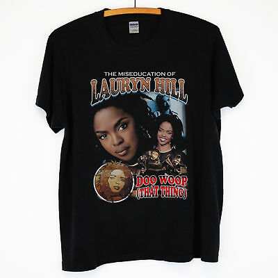 RARE!! Lauryn Hill The Miseducation Of Lauryn Hill Hip Hop Tee good t shirt