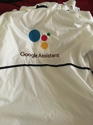 New 2018 CES Google Assistant Jacket With Two FREE Google Assistant Beanies!
