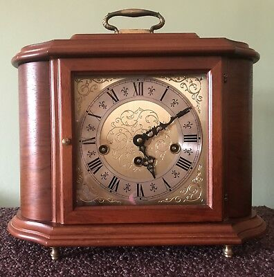 W Haid Hermle Clock Westminster Chime Mantle Bracket With Storage