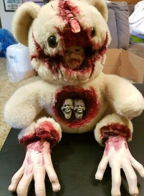 Quiet Room Bears Session 64 Horror Art Teddy Bear