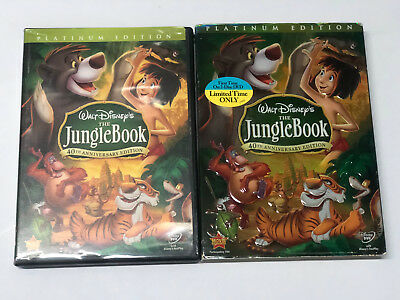 ** The Jungle Book (DVD, 2007, 2-Disc Set, 40th Anniversary Edition)