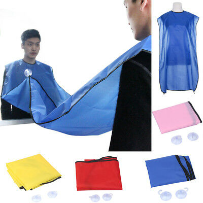 New The Beard Bib Apron Facial Hair Trimmings Catcher Cape Sink Home Salon Tools